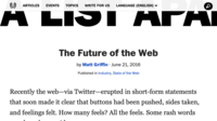 Capture: The future of the web