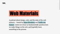 Capture: Webmaterials